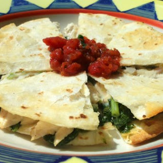 Chicken and Kale Quesadillas