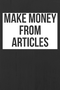 Make Money from Articles - náhled
