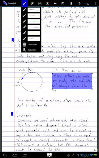 Write screenshot 3