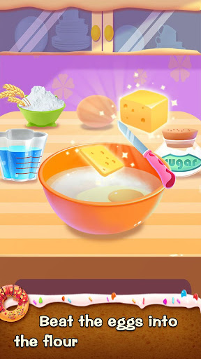 ud83cudf69ud83cudf69Make Donut - Interesting Cooking Game apkpoly screenshots 1