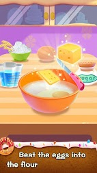 Make Donut - Kids Cooking Game APK screenshot thumbnail 1