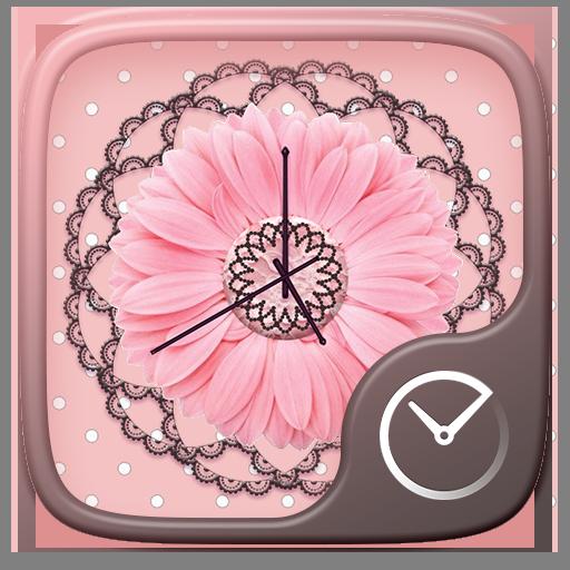 Pink GO Clock Theme