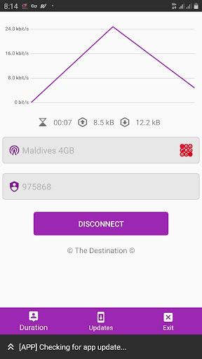 The Destination VPN 10.7 screenshots 4