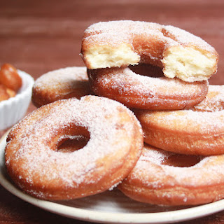 Homemade Fried Donuts (Eggless).