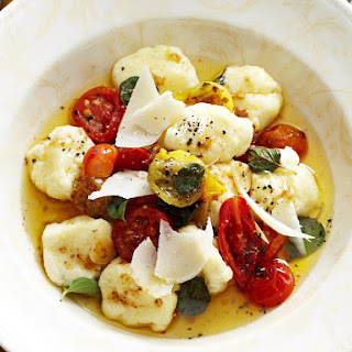 Ricotta Gnocchi with Heirloom Tomato Sauce