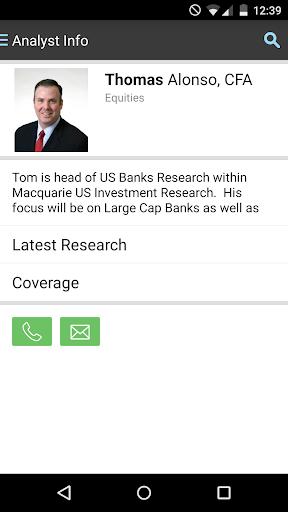 Macquarie Securities Research