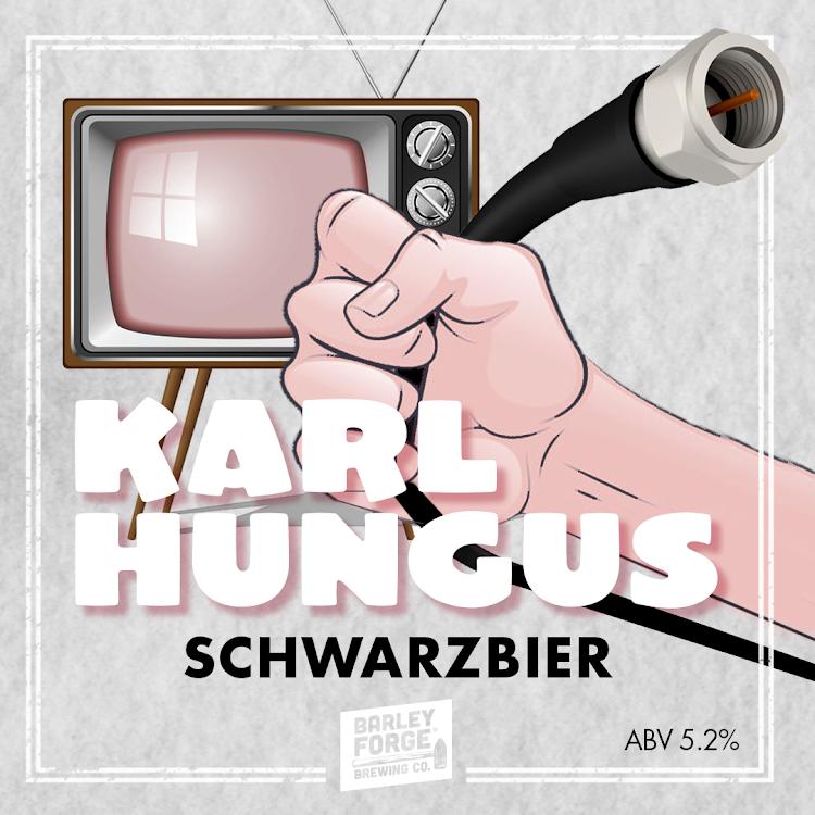 Logo of Barley Forge Karl Hungus Schwarzbier