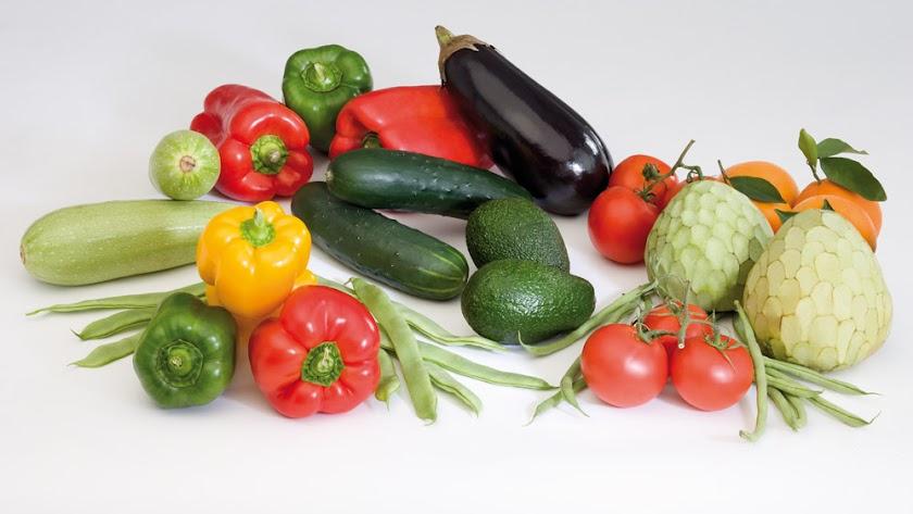 Frutas y hortalizas.
