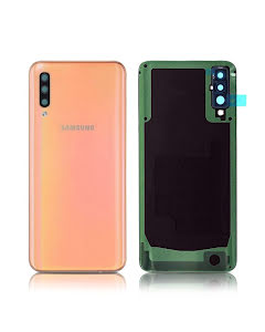 Galaxy A50 Back Cover Coral