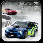 Turbo Car Rally Racing 3D Icon