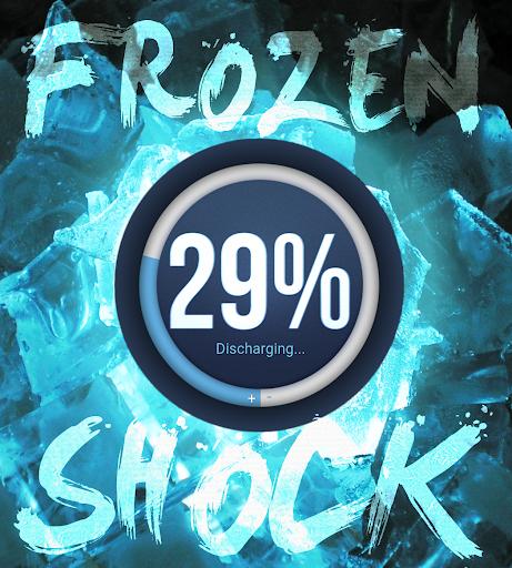Frozen Shock for Zooper Widget