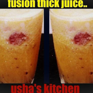 Fusion Juice Recipes