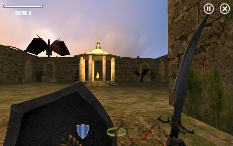 Скриншот Dragon Slayer : Reign of Fire