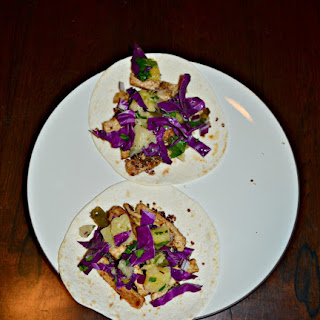 Pork Tacos with Jalapeno Salsa