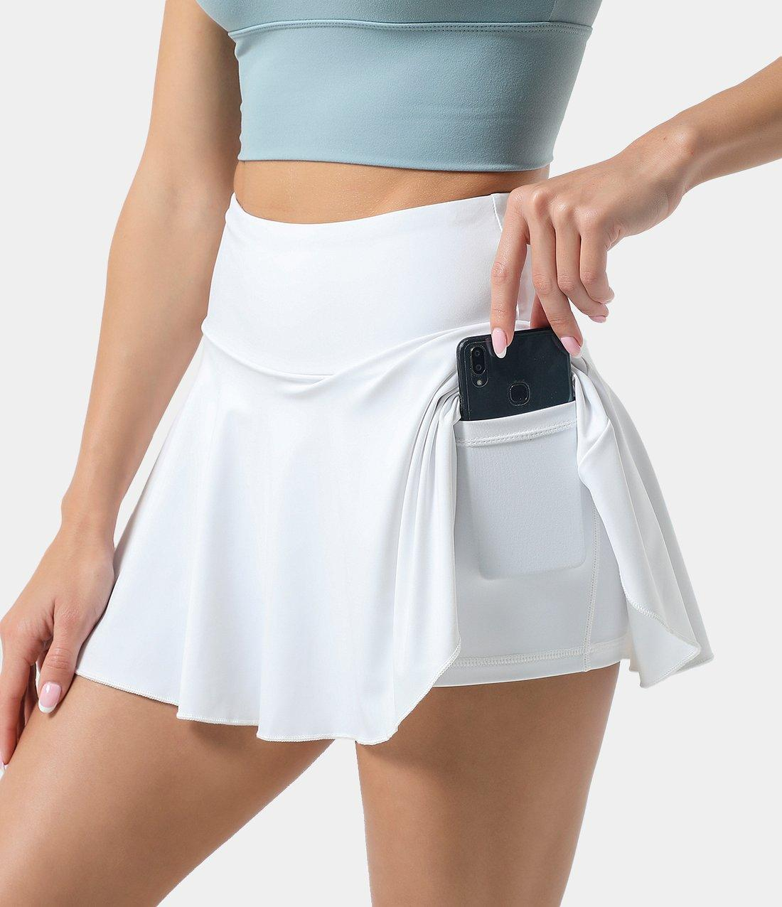 white tennis skirts