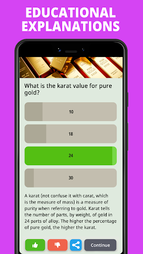 Free Trivia Game. Questions & Answers. QuizzLand. apkdebit screenshots 5