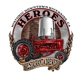 Logo of Heroes Restaurant and Brewery Bourbon Barrel Aged Red Tractor Ale