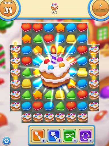 Cookie Macaron Pop : Sweet Match 3 Puzzle filehippodl screenshot 9