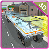 Transporter Truck Sea Animals