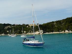 Photo: Insel Paxos: Jachthafen von Lakka