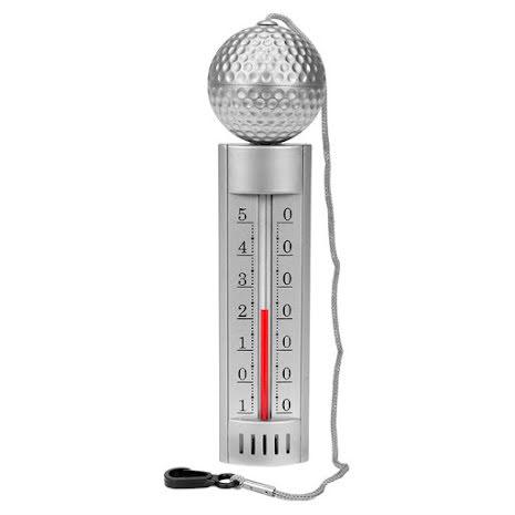 Termometer med flöte