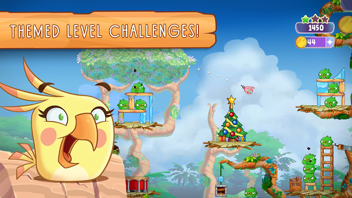 Angry Birds Slingshot Stella screenshot 12