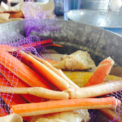 Queen crab legs.