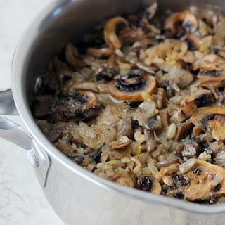 Mushroom Rice Pilaf.