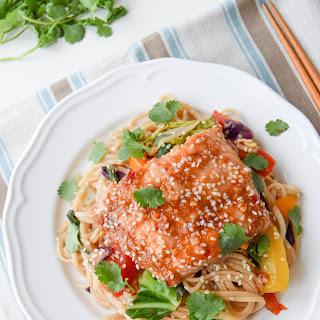 10-Minute Sweet Chilli Salmon Stir Fry