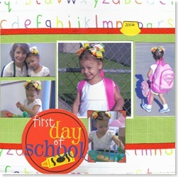 tori's first day