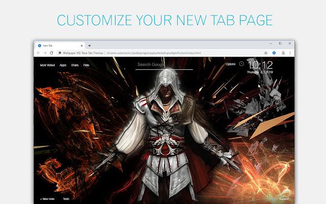 Assassin's Creed Wallpapers HD Custom New Tab