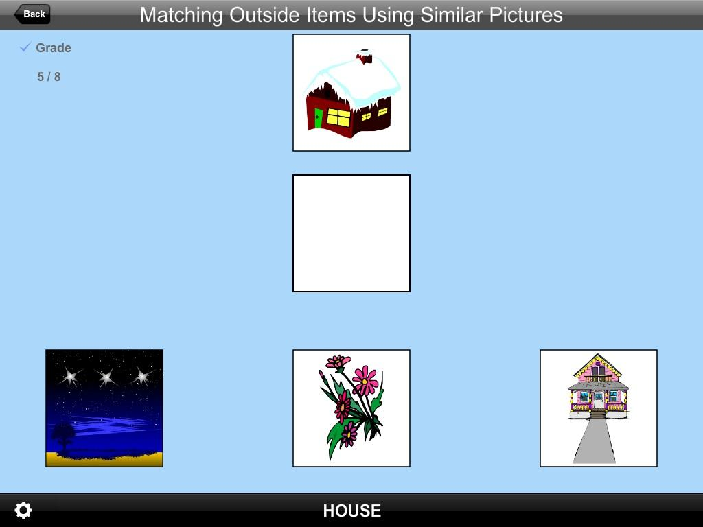 Match Outside ItemsSimPic Lite- screenshot