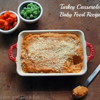 Baby Food Recipe- Turkey Casserole