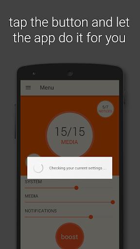Volume Booster ud83cudfa7 6.1 screenshots 2