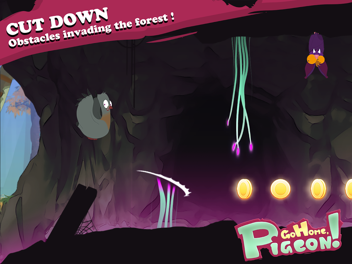 Go Home, Pigeon ! - Bird Run- screenshot