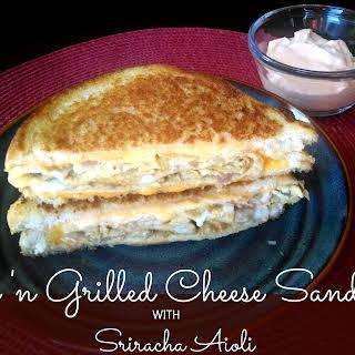 Egg 'n Grilled Cheese Sandwich.