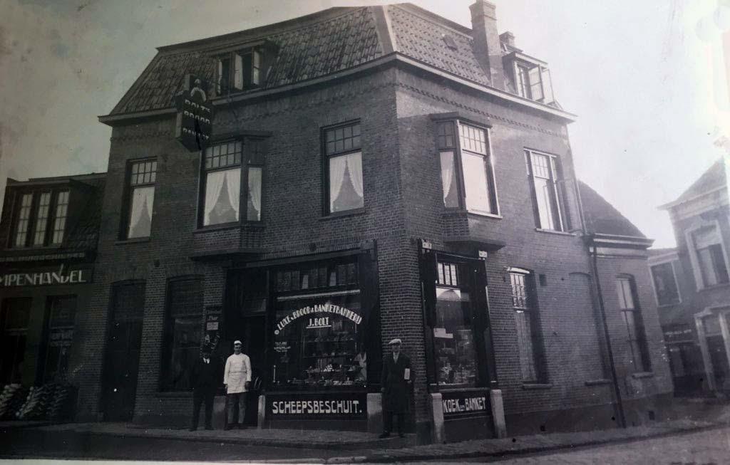 bakkerij Bolt (25 jaar bestaan in 1928)