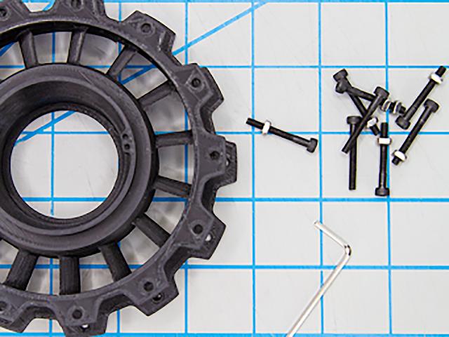 Light Blue PRO Series Tough PLA Filament - 1.75mm (1kg)