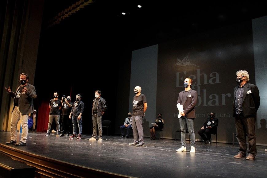 Presentación de la Asociación Echa a Volar el 20-9 en el Auditorio.