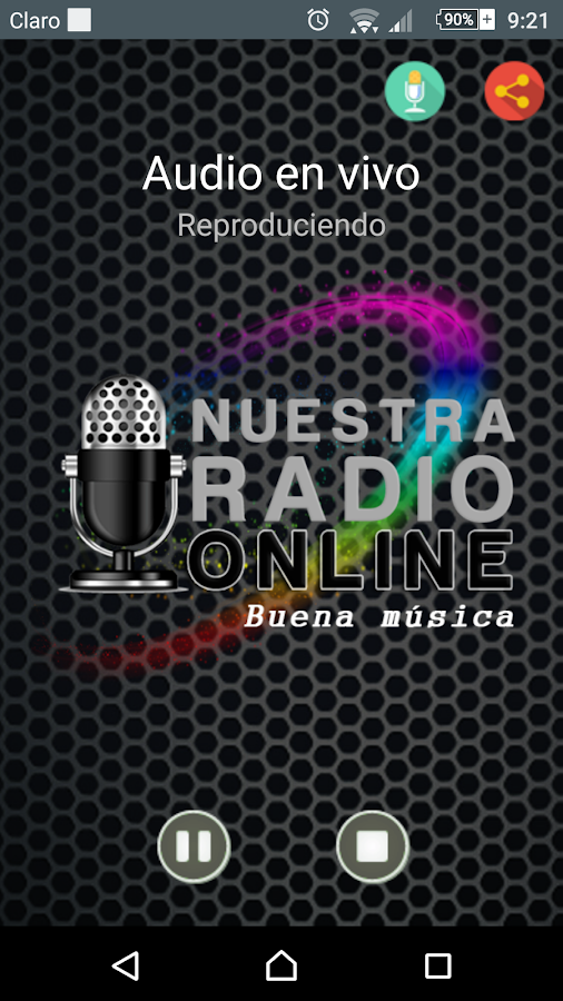 Nuestra Radio Online- screenshot