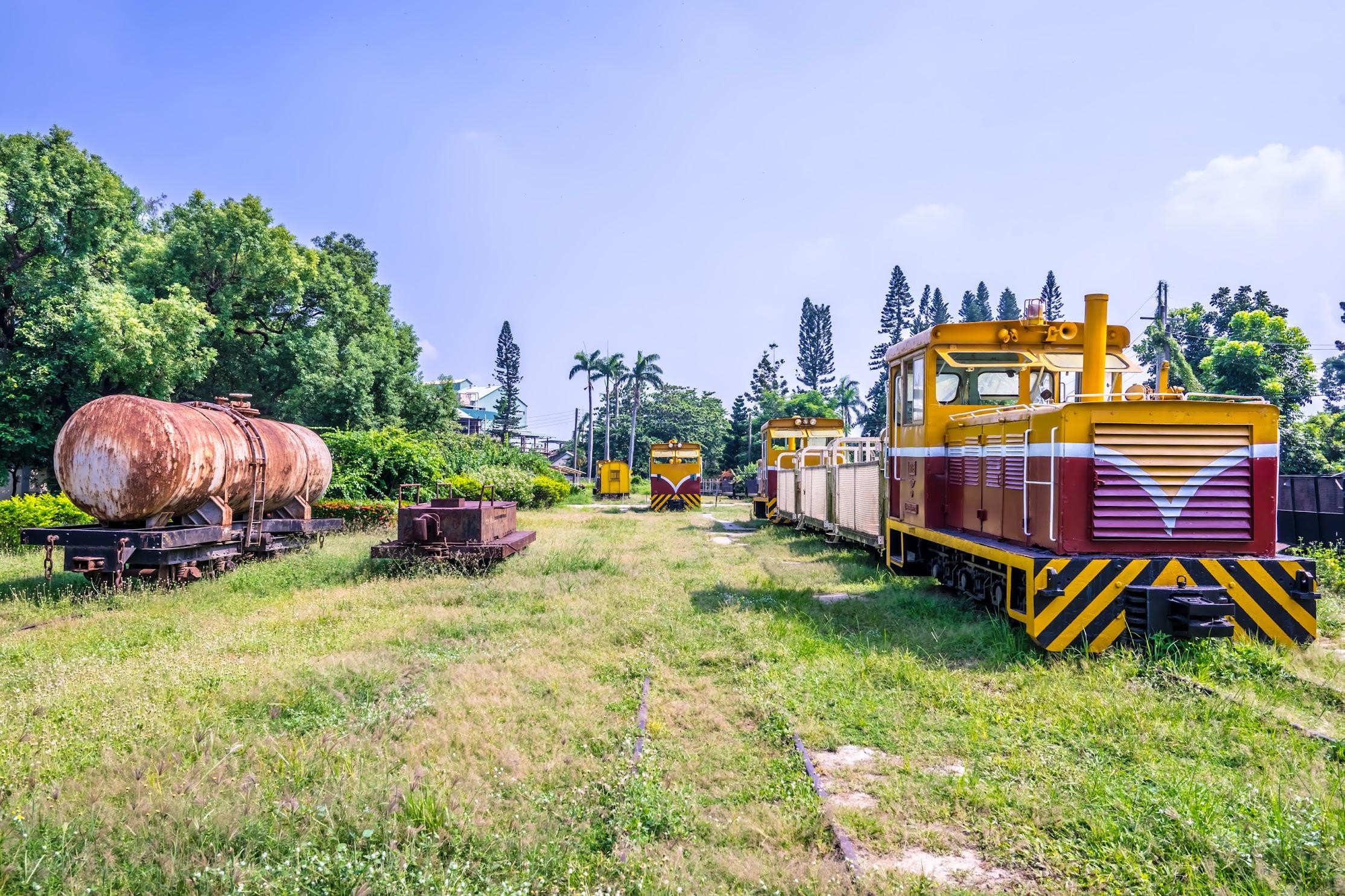 Taiwan Sugar Museum train1