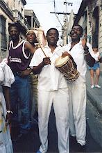 Photo: Oba Koso - Festival des Caraïbes - 1999?