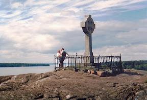 Ansgar's Cross, Birka, Lake Malaren, Stockholm