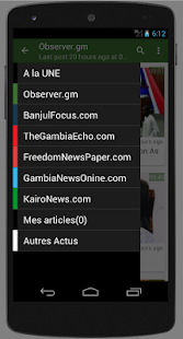 Gambia : Latest News - náhled