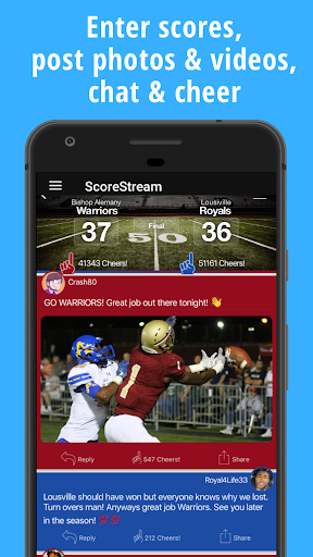 ScoreStream High School Sports Screenshot