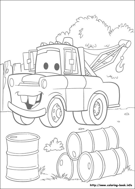 Desenho Carros para colorir