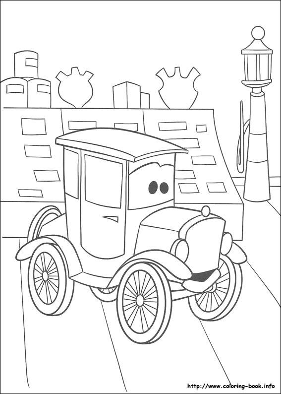 Para Colorir lindos desenhos do Carros