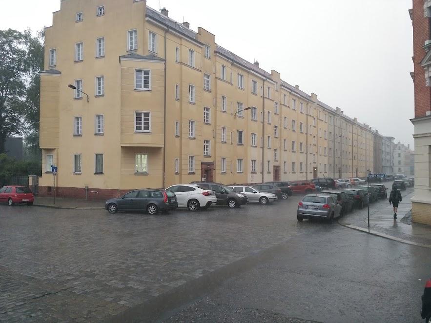 лейпциг, дощовий ранок