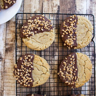 Best Ever Big Peanut Butter Cookies.