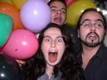 Rodrigo, Bia e eu.